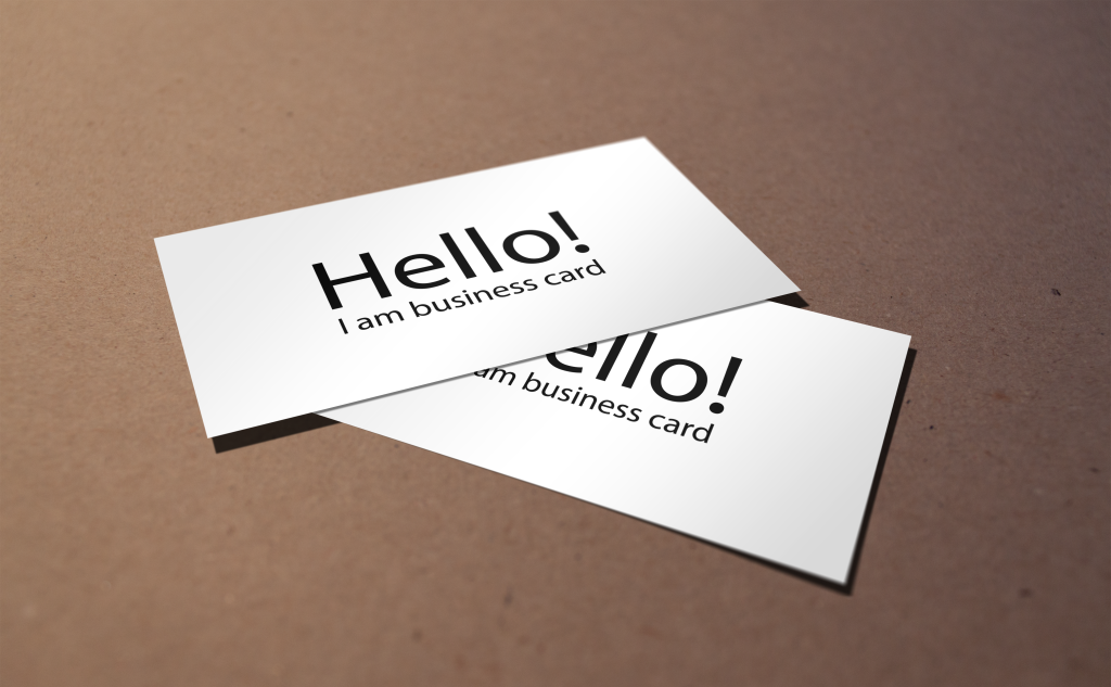 free business card mockups psd